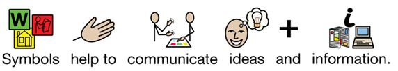 Symbols help to communicate ideas and information.