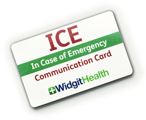 Widgit's ICE Card from Bridges picture