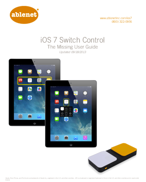 Image cover of iO7 switch control book