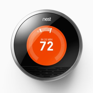 The Nest, created by the design team behind the iPod, put the Internet of Things into mainstream consciousness, with shipments of 40,000 units /month.