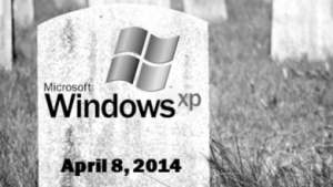 Windows XP has a definitive end date.  The repairable PC seems to be going with it. (Thanks to VAR guy for the evocative image.)