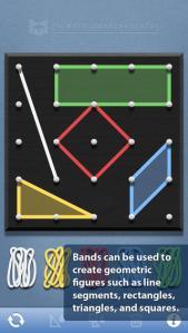 Geoboard app screenshote