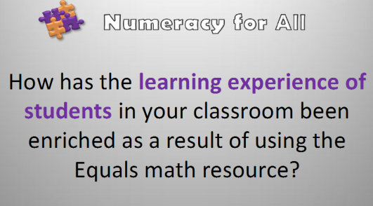 Numeracy for all alberta project
