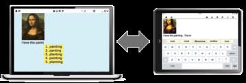 Co:Writer on Laptop and iPad image