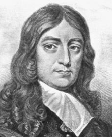 Picture of john milton author of paradise lost