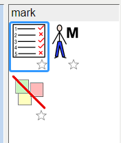 image of mark default symbols