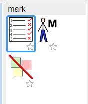 image of mark default symbols