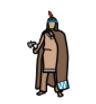"Widgit symbol for ""native."""
